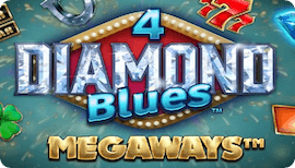 4 DIAMOND BLUES MEGAWAYS SLOT รีวิว