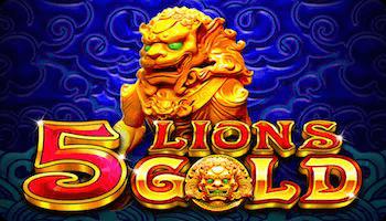 5 LIONS GOLD SLOT รีวิว