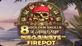 8 GOLDEN SKULLS OF HOLLY ROGER MEGAWAYS รีวิว