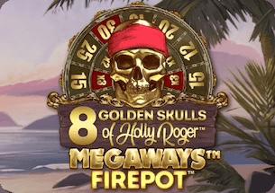 8 Golden Skulls of Holly Roger Megaways™ Thailand