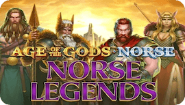 AGE OF THE GODS NORSE LEGENDS SLOT รีวิว