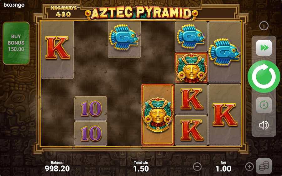 AZTEC PYRAMID MEGAWAYS ธีม, การจ่ายเงิน & สัญลักษณ์ต่างๆ