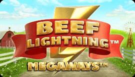 BEEF LIGHTNING MEGAWAYS รีวิว