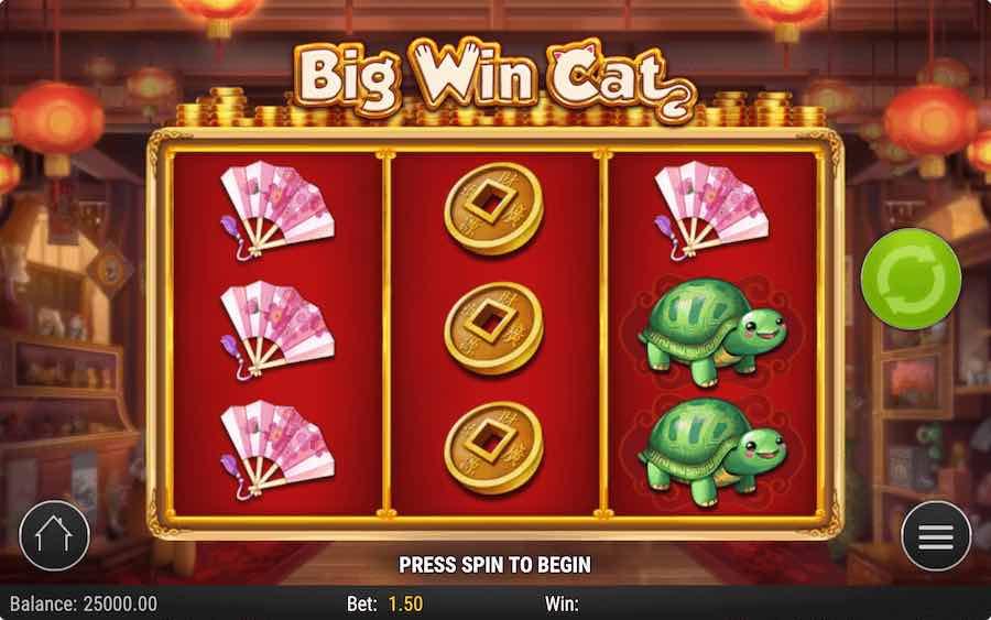 BIG WIN CAT SLOT ธีม, การจ่ายเงิน & สัญลักษณ์ต่างๆ