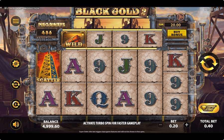 BLACK GOLD 2 MEGAWAYS ธีม, การจ่ายเงิน & สัญลักษณ์ต่างๆ