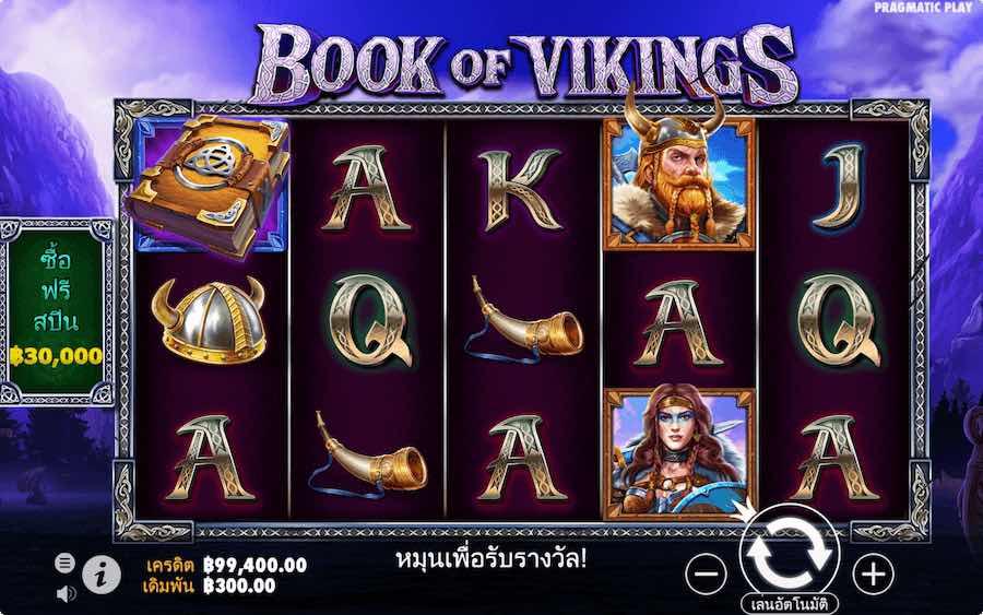 BOOK OF VIKINGS SLOT ธีม, การจ่ายเงิน & สัญลักษณ์ต่างๆ