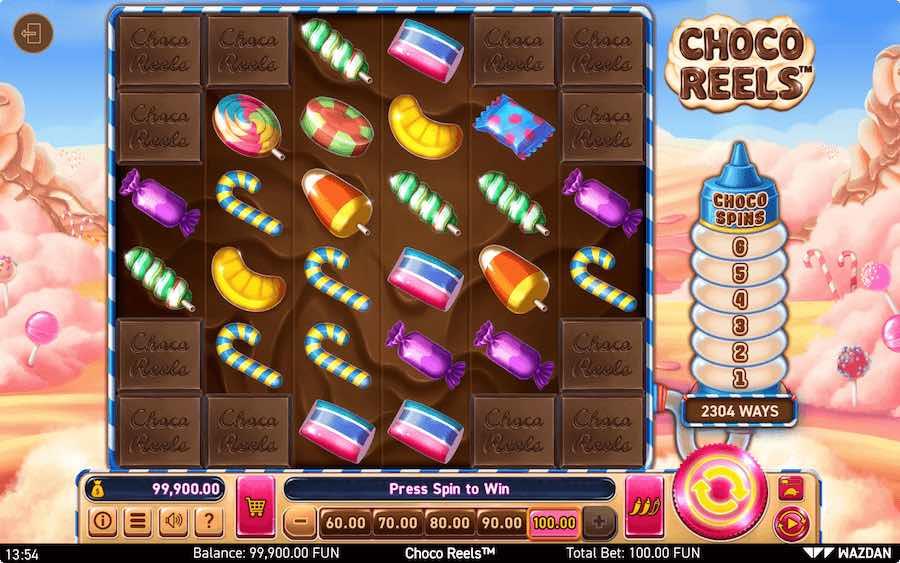 CHOCO REELS SLOT ธีม, การจ่ายเงิน & สัญลักษณ์ต่างๆ