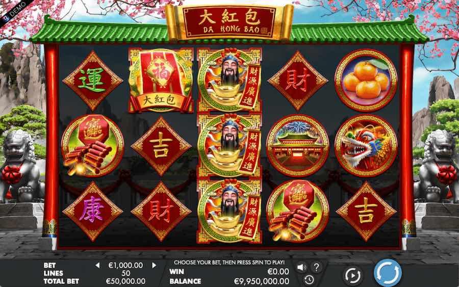 DA HONG BAO SLOT ธีม, การจ่ายเงิน & สัญลักษณ์ต่างๆ