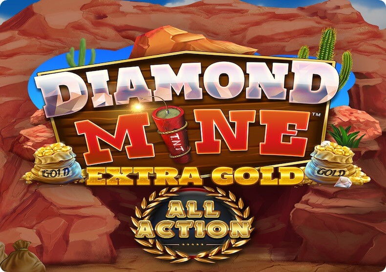 Diamond Mine All Action Megaways Bonus Buy