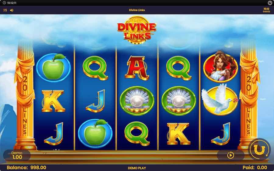 DIVINE LINKS SLOT ธีม, การจ่ายเงิน & สัญลักษณ์ต่างๆ
