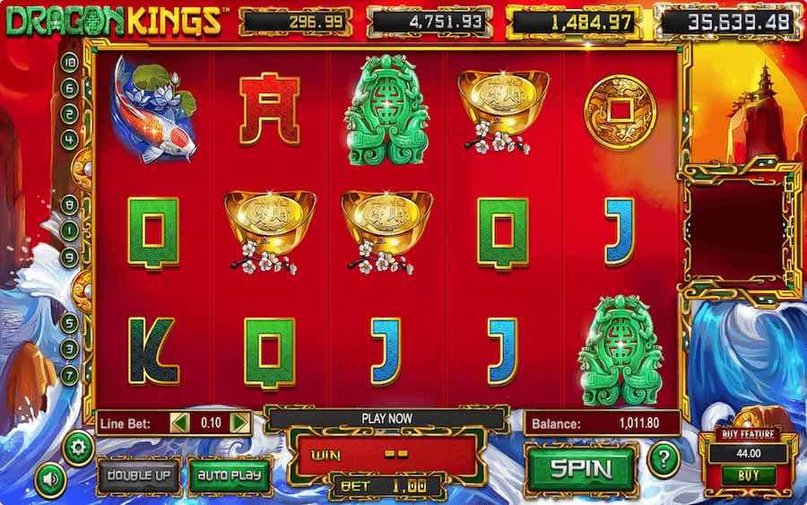 DRAGON KINGS SLOT ธีม, การจ่ายเงิน & สัญลักษณ์ต่างๆ