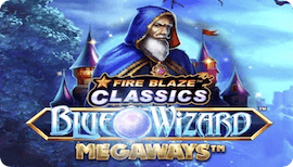 FIRE BLAZE BLUE WIZARD MEGAWAYS รีวิว