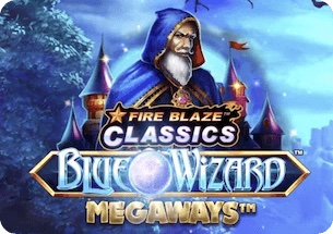 Fire Blaze Blue Wizard Megaways Slot