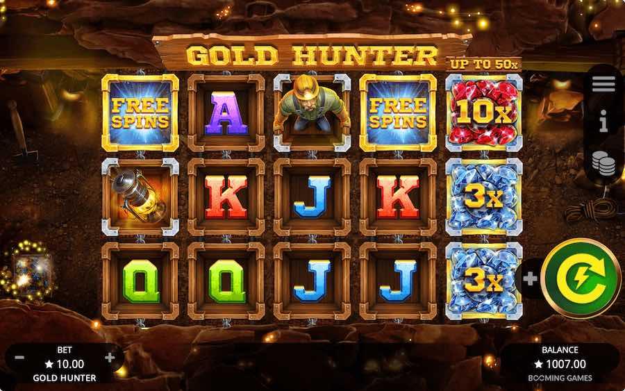 GOLD HUNTER SLOT ธีม, การจ่ายเงิน & สัญลักษณ์ต่างๆ
