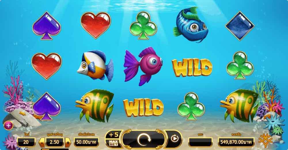 GOLDEN FISH TANK SLOT ธีม, การจ่ายเงิน & สัญลักษณ์ต่างๆ