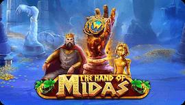 THE HAND OF MIDAS SLOT รีวิว
