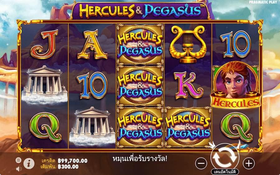 HERCULES AND PEGASUS SLOT ธีม, การจ่ายเงิน & สัญลักษณ์ต่างๆ