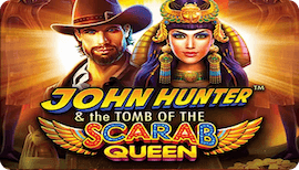 JOHN HUNTER AND THE TOMB OF THE SCARAB QUEEN SLOT รีวิว