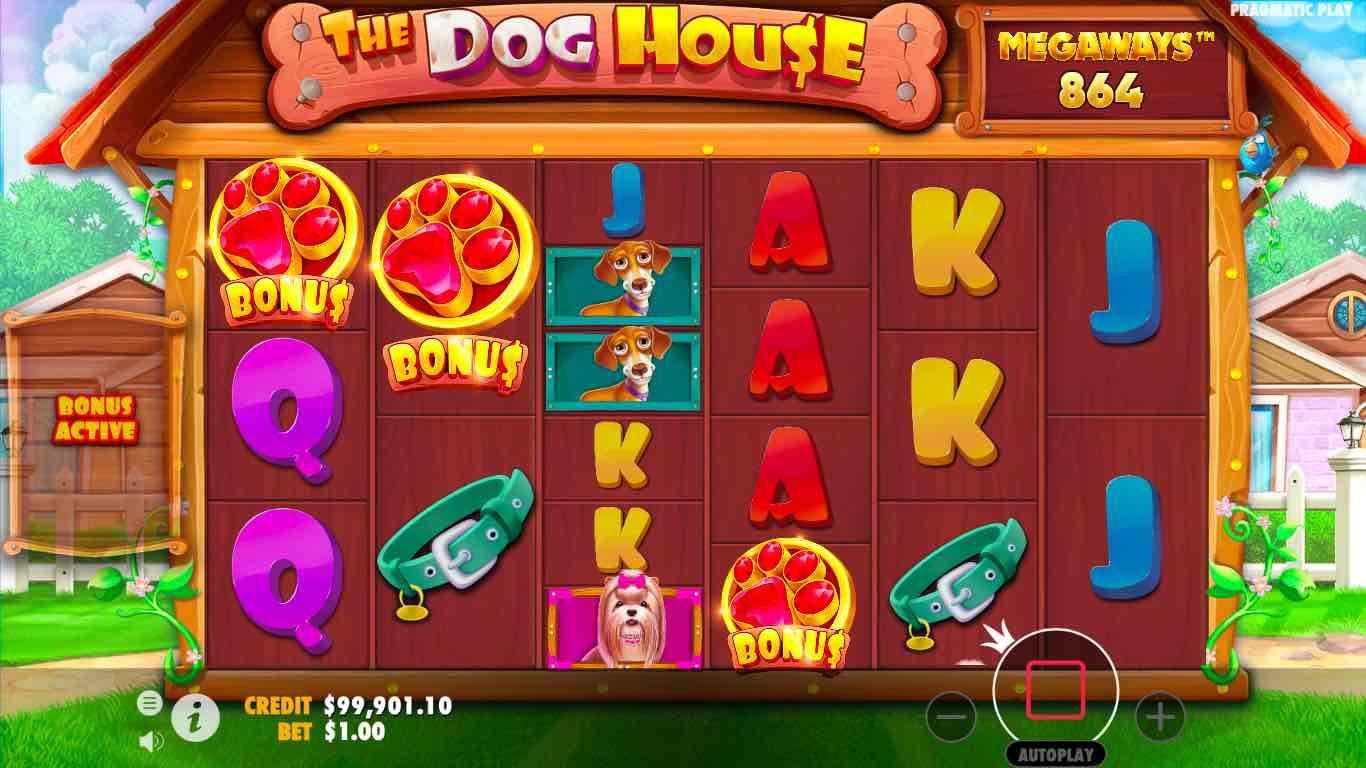 THE DOG HOUSE MEGAWAYS โบนัสการหมุนฟรีสปิน