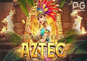 ทดลองเล่น Treasures of Aztec