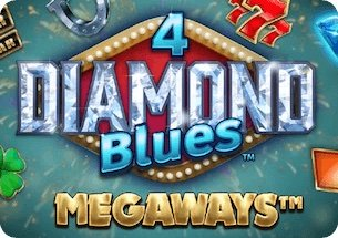4 Diamond Blues Megaways Slot