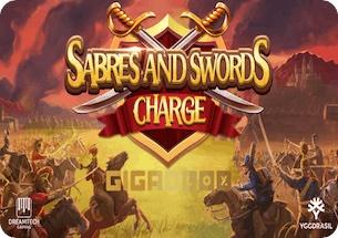 Sabres and Swords Charge Gigablox Slot